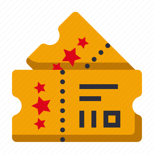 amusement, carnival, circus, parade, pass, theater, ticket icon