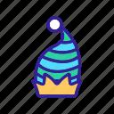 carnival, clown, festival, halloween, hat, headdress, striped