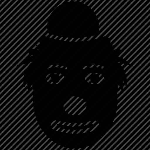 clown, comedian, face, jester, joker, jokester icon