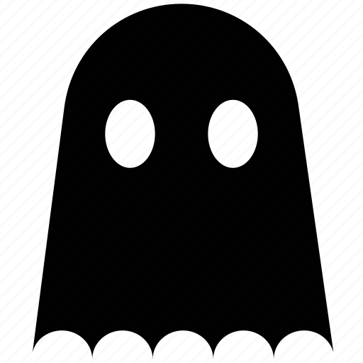 creepy, dreadful, ghost, halloween, pac man, scary, spooky icon