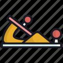 carpenter, equipment, planter, tool, wood icon