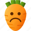 emoji, emotion, expression, face, feeling, sad icon