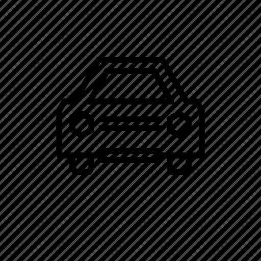 car, family, four door, street icon