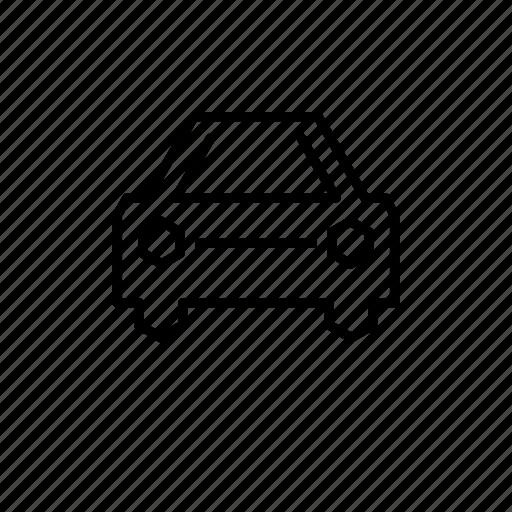 car, city, family, street icon