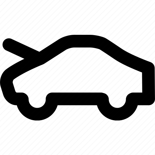 car, car hood, hood icon