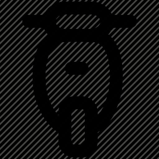 autobike, autocycle, moto, motorcycle, scooter, vehicle icon