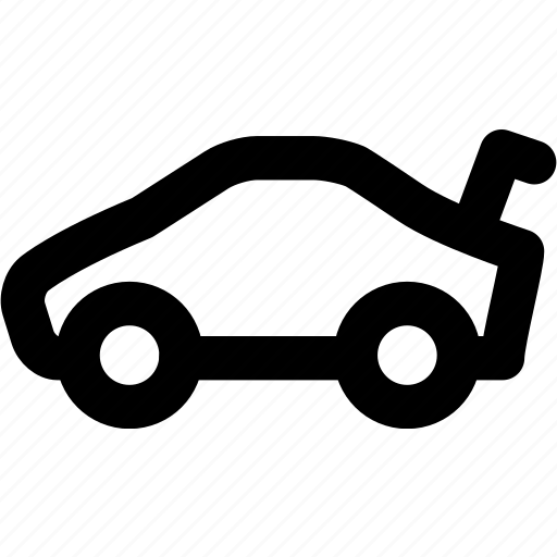 auto, automobile, car, sports car, vehicle icon