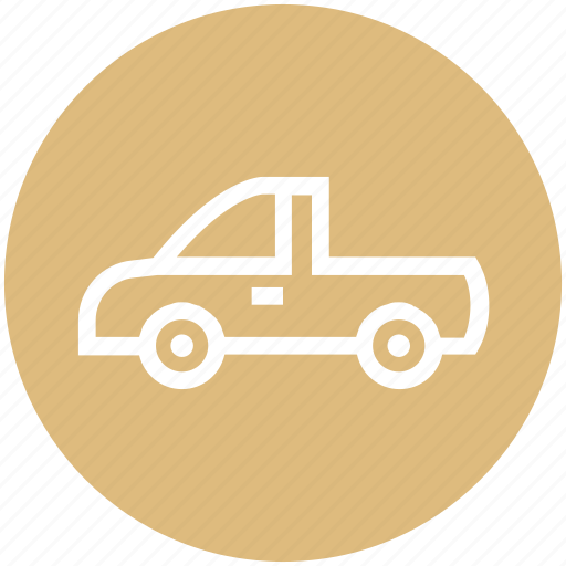 Auto mobile, car, pickup truck, transport, vehicle icon - Download on Iconfinder