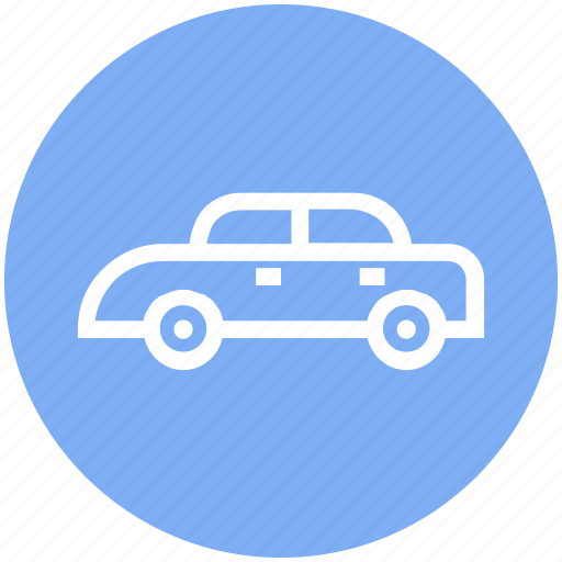 auto mobile, car, luxury car, private car, transport, vehicle icon