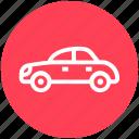auto mobile, car, sedan, transport, vehicle icon