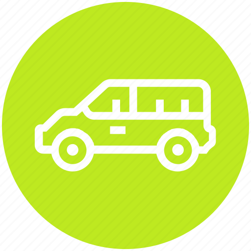 Auto mobile, car, minivan, transport, vehicle icon - Download on Iconfinder
