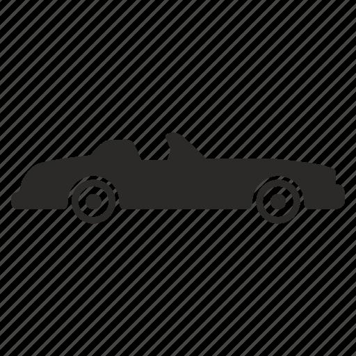 auto, automobile, cabrio, cabriolet, car, open icon