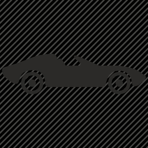 auto, automobile, cabrio, cabriolet, car, race, speed icon