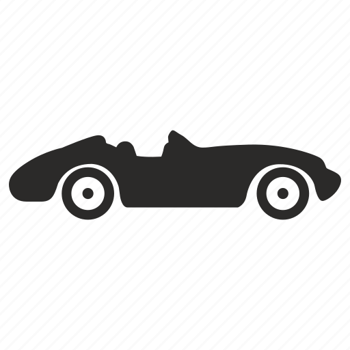 auto, cabrio, cabriolet, car, classic, old icon