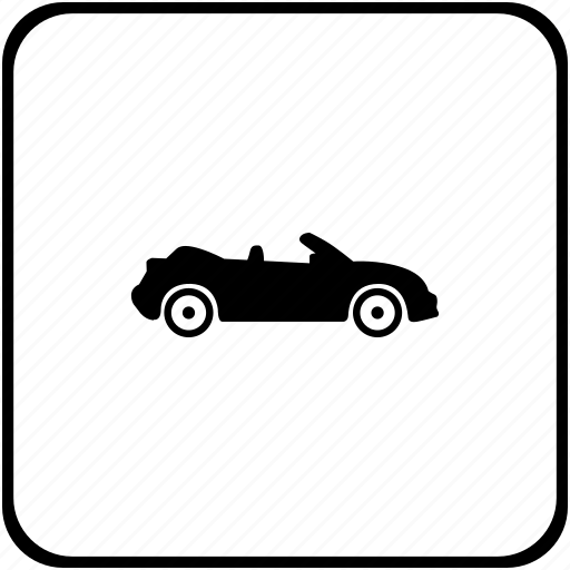 cabrio, cabriolet, car, mini, open icon