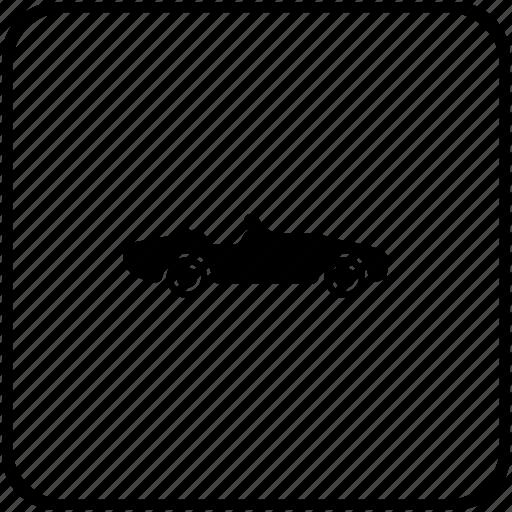 auto, cabrio, cabriolet, car, race, track icon
