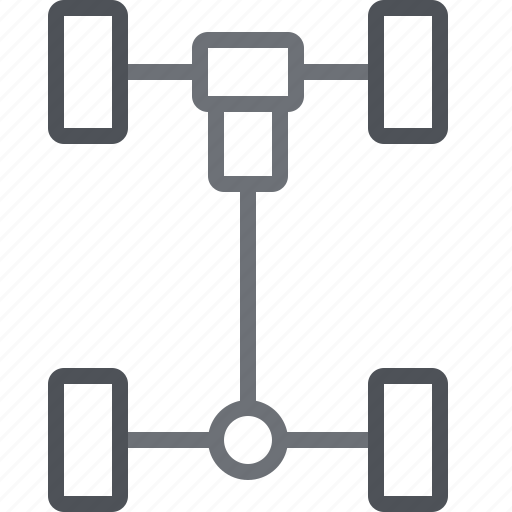 axle, car, car part, car parts, transport, vehicle, wheels icon