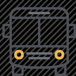 bus, city transport, coach, pubic transportation, ride, tour bus, vehicle icon
