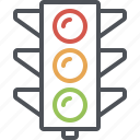 city traffic light, road, stop light, street, traffic, traffic light, traffic signal icon