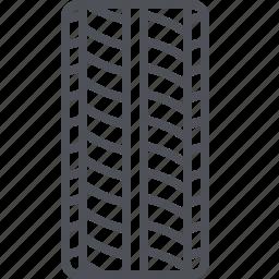 car parts, car tire, rim, rubber tire, tire, tyre, wheel icon