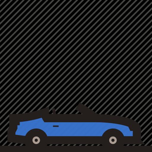 convertible, convertible car, coupe, luxury car, sedan, sports car, supercar icon