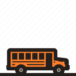 bus, classic school bus, free school bus, school bus icon