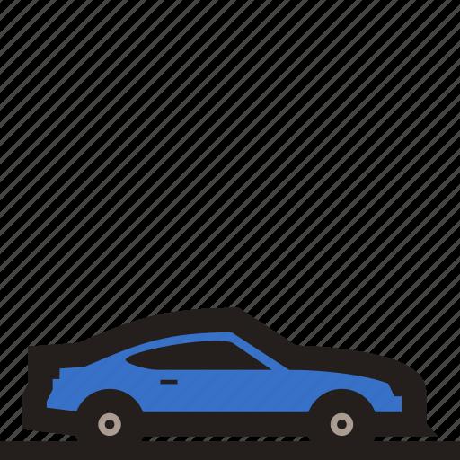 car, luxury car, sedan, small car, sports car, supercar, two seated car icon