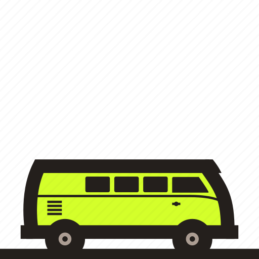 car, combi van, family car, van, van car, volkswagen, vw combi icon
