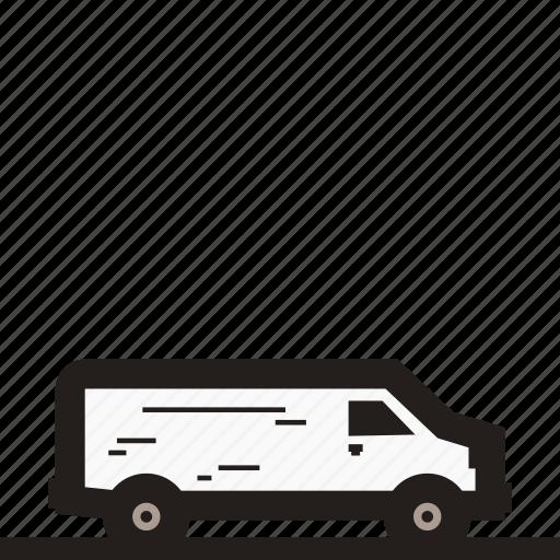 business car, family car, mpv car, multi purpose vehicle, van, van car, white van icon