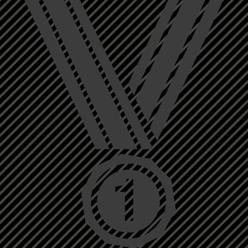 award, medal, ribbon, winner, winning icon