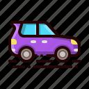 car, hatch, hatchback, transportation, vehicle icon