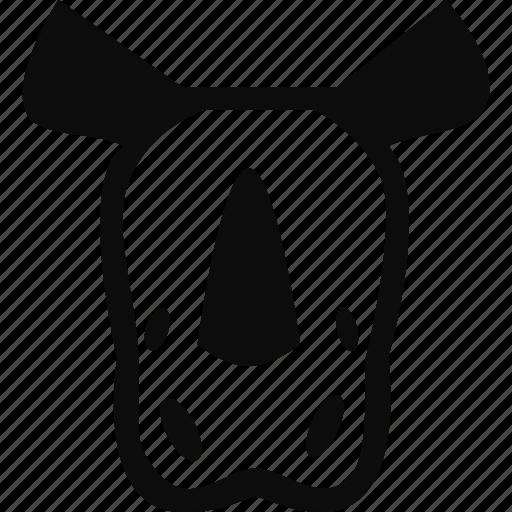animal, mammal, rhino, rhinoceros, zoo icon