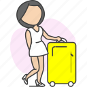 journey, tour, tourism, travel, trip icon