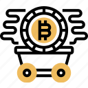 bitcoin, cryptocurrency, mining, trade, money