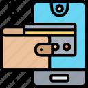 digital, wallet, money, payment, banking