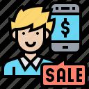 consumer, convenient, customer, payment, sale