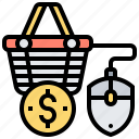 marketing, online, sale, sell, shopping icon