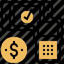 cashless, digital, disruption, machine, payment icon