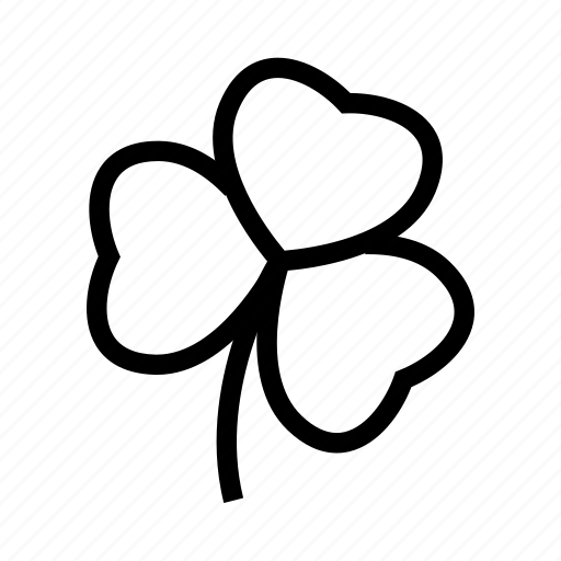 Clover, luck, lucky, trefoil icon - Download on Iconfinder