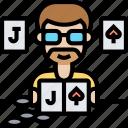 blackjack, cards, game, gambler, luck