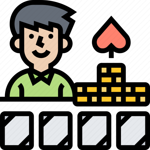 Player, poker, game, fun, leisure icon - Download on Iconfinder