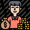 rich, money, winner, jackpot, bonus