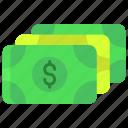 dollar, cash
