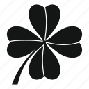 clover, day, irish, leaf, luck, object, shamrock icon