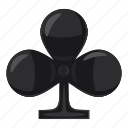 ace, card, cartoon, club, game, playing, poker icon