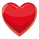 ace, card, cartoon, casino, game, heart, poker icon
