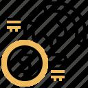 casino, chip, exchange, money, payout icon