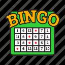 bingo, casino, chance, gambling, game, lottery