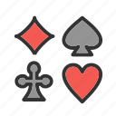 ace, card, cards, casino, poker, spades, suit icon