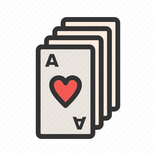 cards, casino, clubs, deck, diamond, game, playing icon